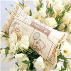 천연염색 베개[아동용행복]